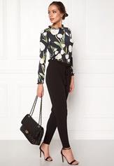 Chiara Forthi PaperBag Waist Pantaloni Black