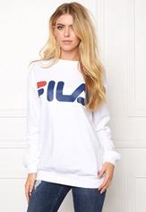 FILA Classic Logo Sweat White Bubbleroom.no