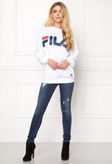 FILA Classic Logo Sweat White