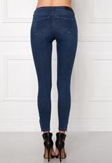 ONLY Kendell Ankle Jeans Dark Blue Denim Bubbleroom.no