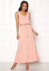 OBJECT Josephine s/l Maxi Dress Misty Rose Bubbleroom.no