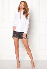 Pieces Katia Shirt Bright White