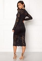 VILA Grit L/S Dress Black