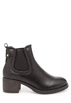 Glossy Boots, Britt Svart Bubbleroom.no