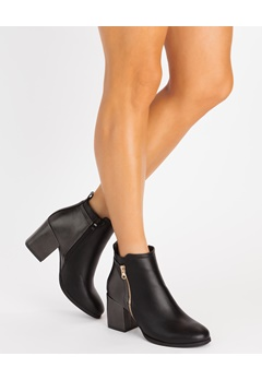 Glossy Boots, Git Svart Bubbleroom.no