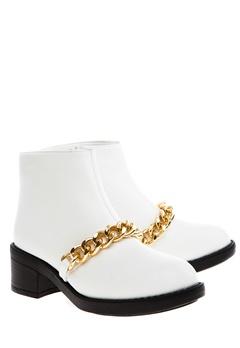 Have2have Boots, Allyson Hvitt og gull Bubbleroom.no