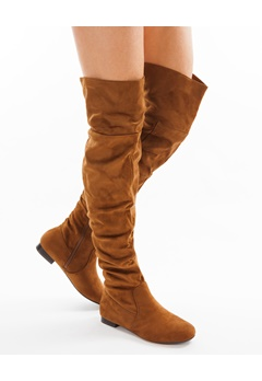 Have2have Overknee støvler, Mazze Camel Bubbleroom.no