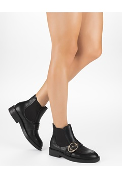 Truffle Boots, Olga Svart Bubbleroom.no