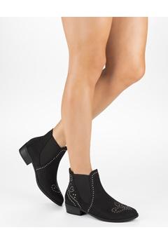 Truffle Chelsea Boots, Evelyn Svart Bubbleroom.no