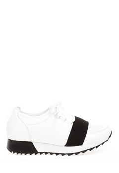 Truffle Sneakers, Annie Vit, svart Bubbleroom.no