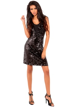 VILA Leeshi Dress Black Bubbleroom.no