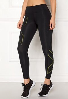 2XU Bonded Compression Tights Blk/Fob Bubbleroom.no