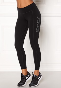 2XU Fitness Compression Tight Black/silver Bubbleroom.no