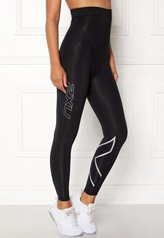 2XU Post-Natal Sport Tights Black/silver Bubbleroom.no