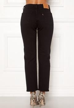 LEVI'S 501 Crop Jeans 0085 Black Heart Bubbleroom.no