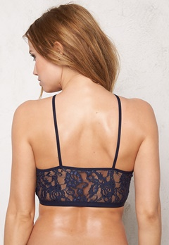 Pieces Gela Lace Bra Navy Blazer Bubbleroom.no