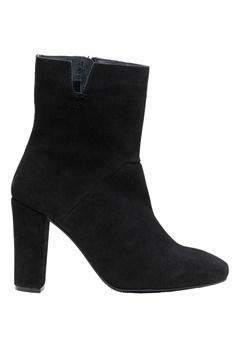 VERO MODA Siwie Leather Boot Black Bubbleroom.no