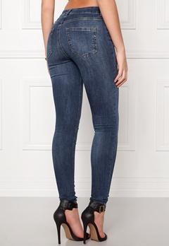 Pieces Five Delly Jeans Medium Blue Denim Bubbleroom.no