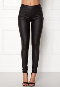 OBJECT Belle Coated Legging Black Bubbleroom.no