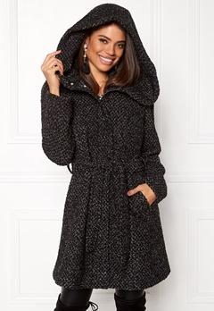 VILA Cama New Wool Coat Black Detail Bubbleroom.no
