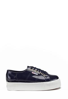 Superga Leapatent Sneaker Navy Bubbleroom.no