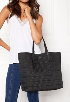 DAGMAR Quilted Shopping Bag Black Bubbleroom.no