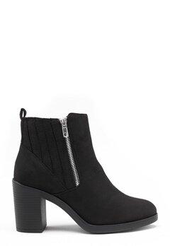 New Look Doodle Side Zip boots Black Bubbleroom.no