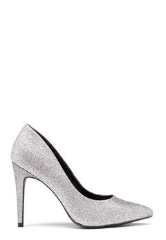 New Look Yummy Glitter Heel Silver Bubbleroom.no