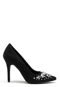 New Look Storm Embellished Heel Black Bubbleroom.no