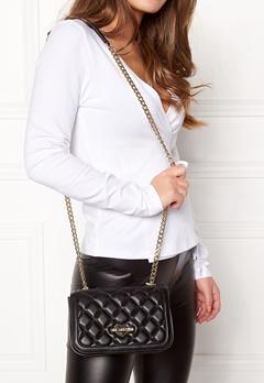 Love Moschino Bag With Chain 00B Black/Gold Bubbleroom.no