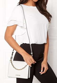 Love Moschino Chain Crossbody Bag 100 White Bubbleroom.no