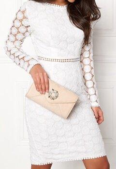 Koko Couture Glamour Bag Nude Bubbleroom.no