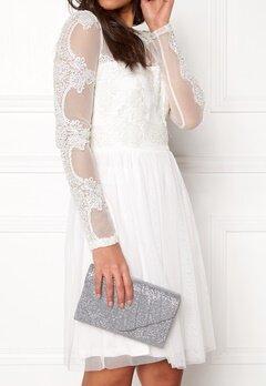 Koko Couture Sparkle Bag Silver Bubbleroom.no