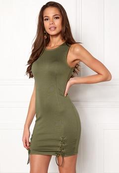 77thFLEA Ada Dress Green Bubbleroom.no