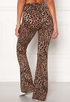 77thFLEA Cozensa printed trousers Leopard Bubbleroom.no