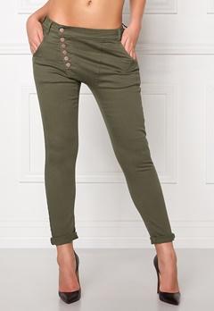 77thFLEA Deanne girlfriend jeans Green Bubbleroom.no