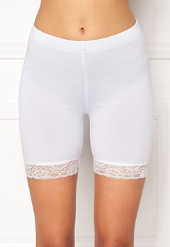 77thFLEA Juli short lace leggings White Bubbleroom.no