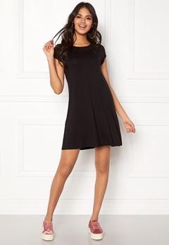 77thFLEA Lara t-shirt dress Black Bubbleroom.no