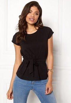 77thFLEA Layla t-shirt Black Bubbleroom.no