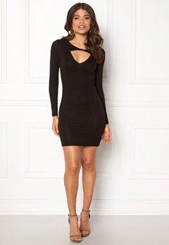 77thFLEA Lulah Twist Dress Black Bubbleroom.no