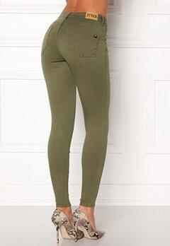 77thFLEA Miranda Push-up jeans Green Bubbleroom.no