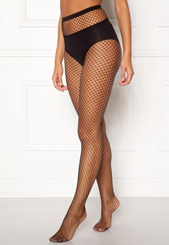 77thFLEA Net tights Black Bubbleroom.no