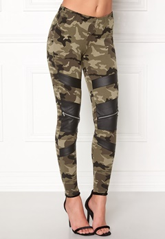 77thFLEA Pixie Leggings Camouflage / Black Bubbleroom.no
