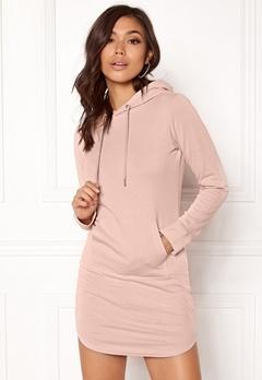 77thFLEA Rhianna Sweat Dress Dusty pink Bubbleroom.no