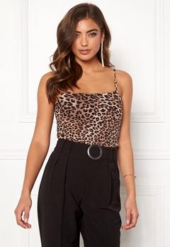 77thFLEA Sara strap top Leopard Bubbleroom.no