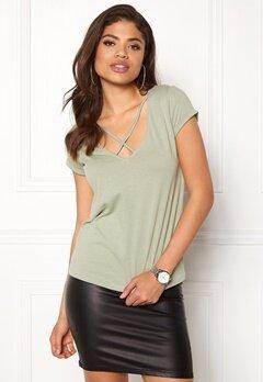 77thFLEA Selina T-shirt Light green Bubbleroom.no