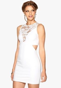 WYLDR Look out dress White Bubbleroom.no