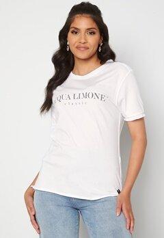 Acqua Limone T-shirt Classic White Bubbleroom.no