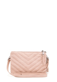 OBJECT Adelle PU Quilted Bag Hushed Violet Bubbleroom.no