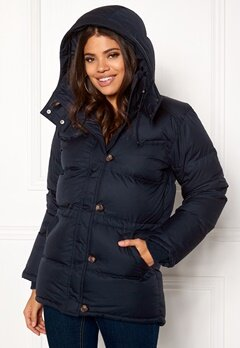 Boomerang Alexandra Down Jacket Blackish Navy Bubbleroom.no